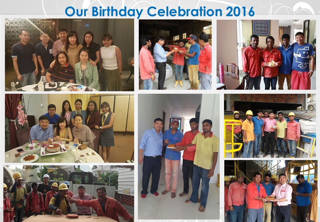 Birthday Celebration 2016